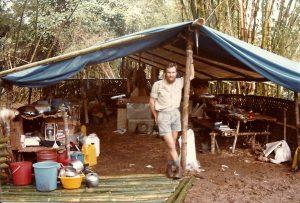 Corbett at Tatau, PNG, 1984