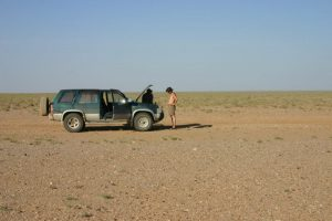 Broken down in Mongolia